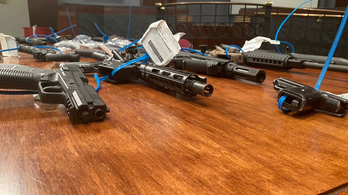 The Shreveport Police Department seized a number of illegal weapons the weekend of June 12 and...