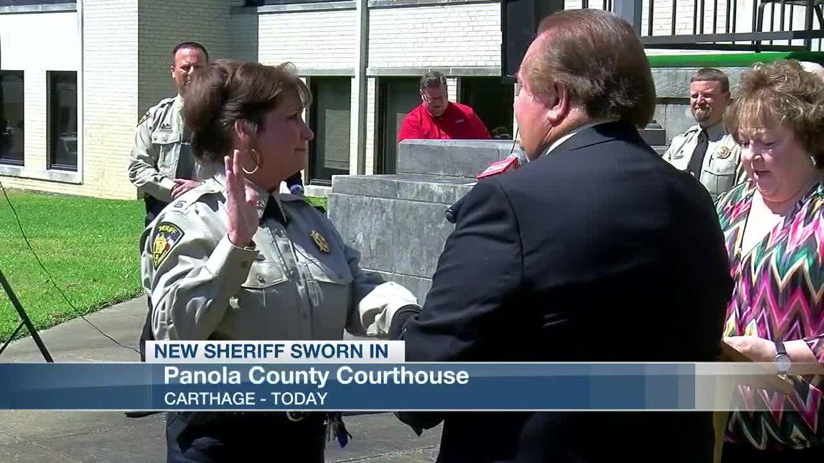 Panola Sheriff Sworn In And Memorial
