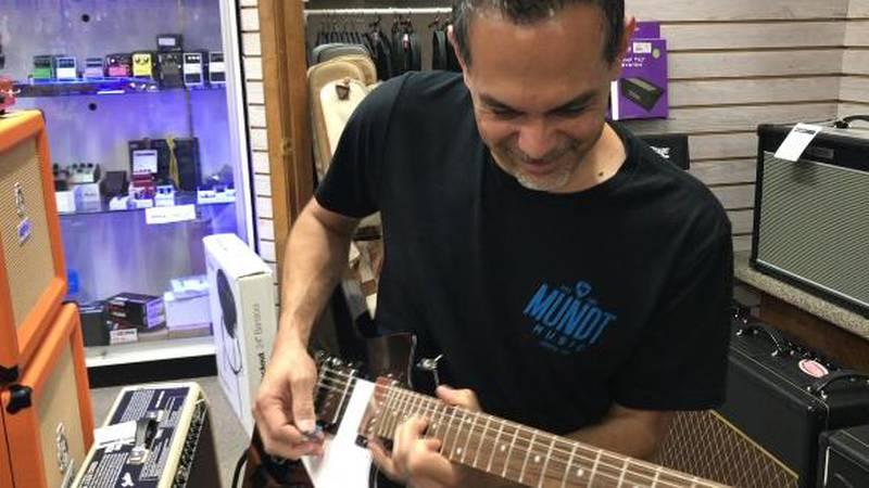 Longview guitarist Joe Rodriguez