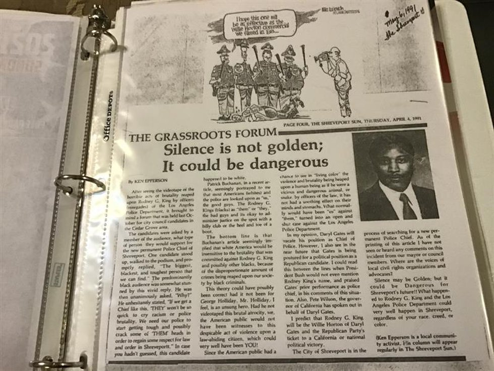 Op-ed written by Commissioner Ken Epperson.