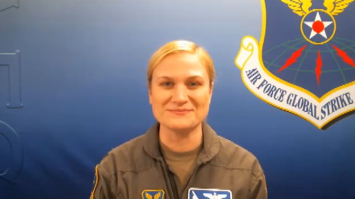 """Captain Sarah """"Gucci"""" Kociuea will be leading the Super Bowl LV flyover"""