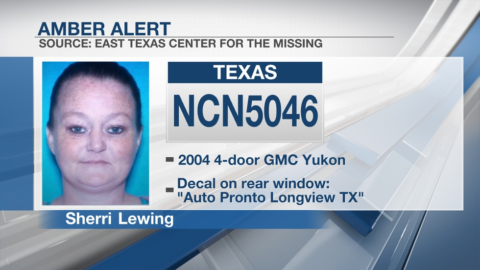 The East Texas Center for the Missing released a description of the suspect vehicle in an Amber...