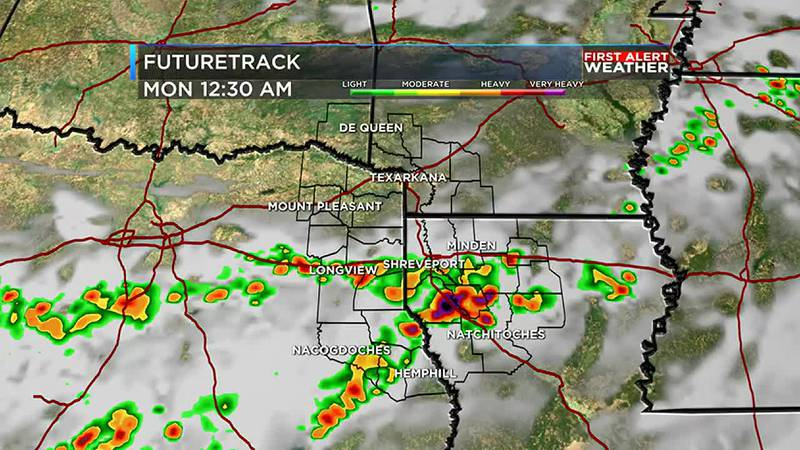 evening and overnight storms