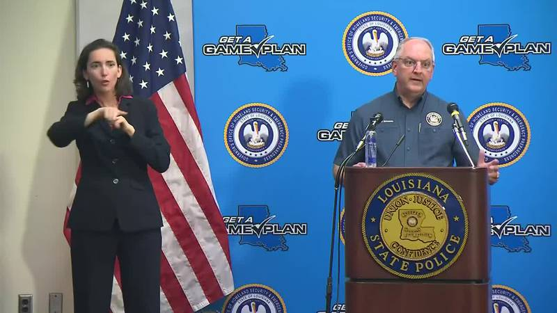 FULL NEWS CONFERENCE: Gov. Edwards discusses state's preparations for Hurricane Delta -...