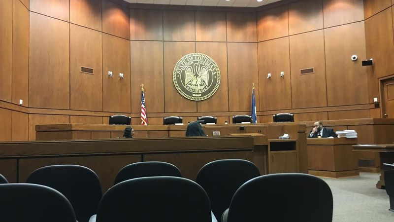 Louisiana 2nd Circuit Court of Appeal courtroom