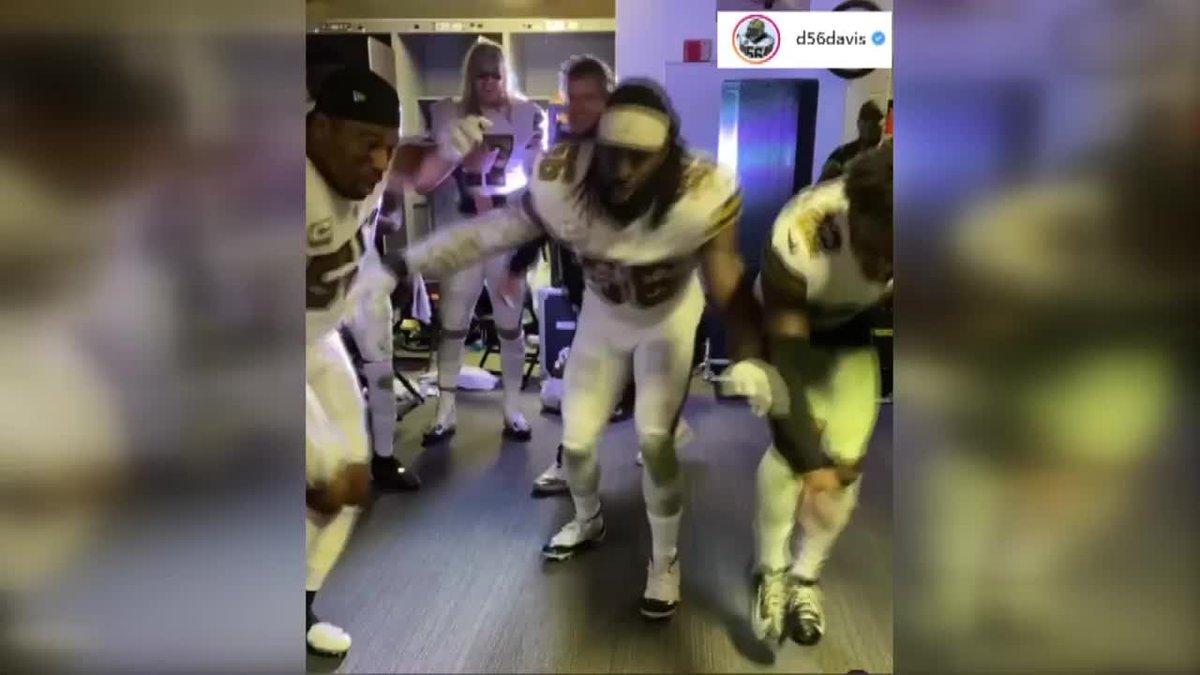 New Orleans Saints could face discipline over videos of locker room celebration