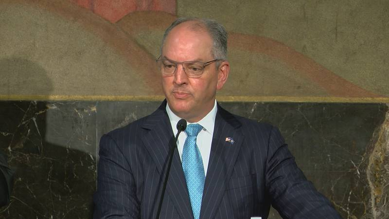 Gov. John Bel Edwards is asking people to not let their guard down when it comes to social...