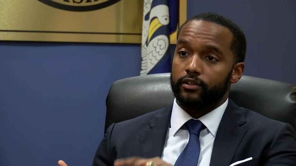 Shreveport Mayor Adrian Perkins