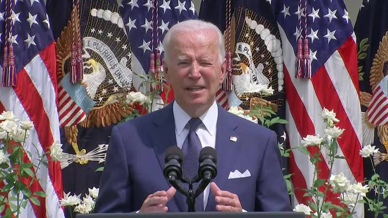 President Joe Biden said Monday that COVID-19 may have given people long-term effects that rise...