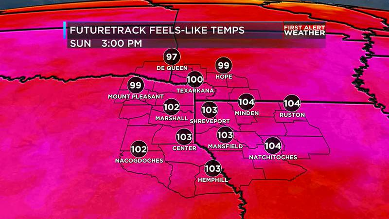 Some students head back to school to comfortable temperatures while scorching weather is ahead...