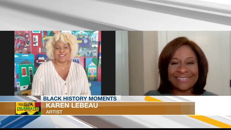 BLACK HISTORY MOMENTS: Highlighting the black culture on canvas