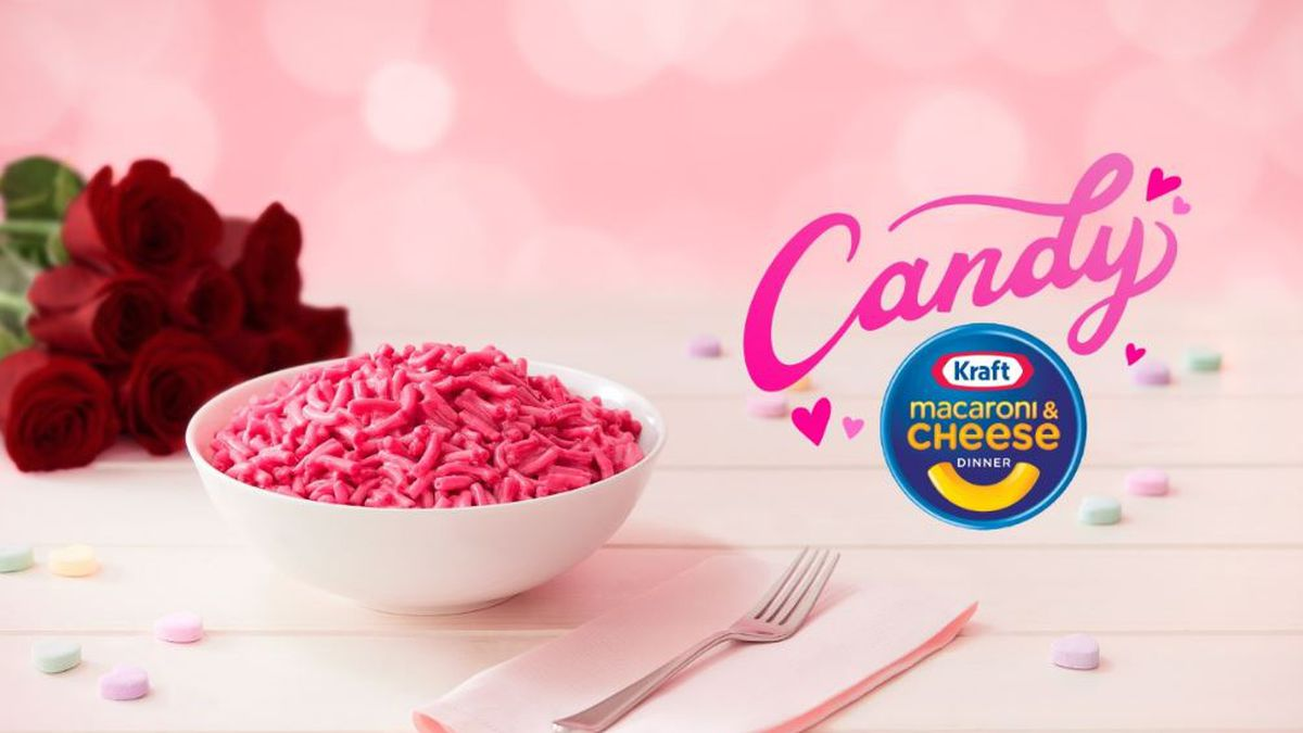 Kraft Mac & Cheese is launching a limited-edition Candy Kraft Mac & Cheese.