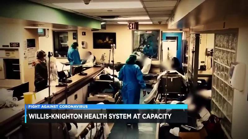 Busy time of year, COVID-19, nursing shortage combine to stress hospitals