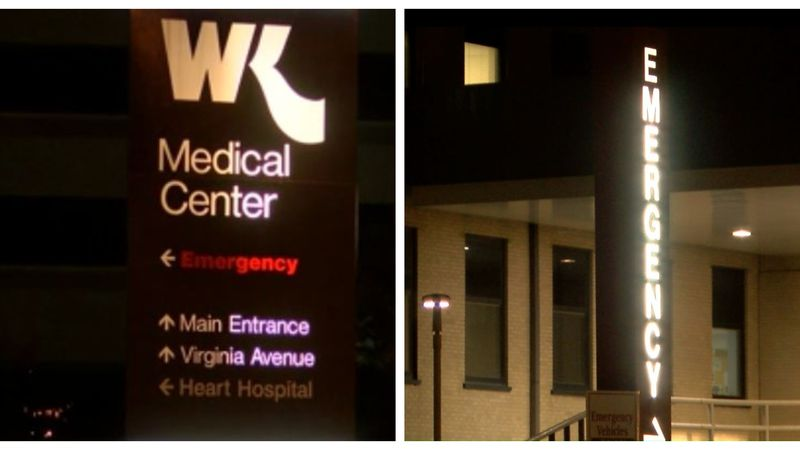 A woman with at least one gunshot wound showed up at Willis-Knighton North and, three minutes...