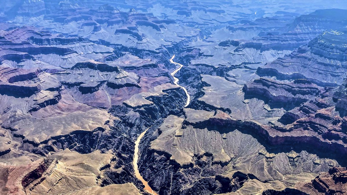 This photo provided by John Dillon shows the effects of flooding in the Colorado River through...