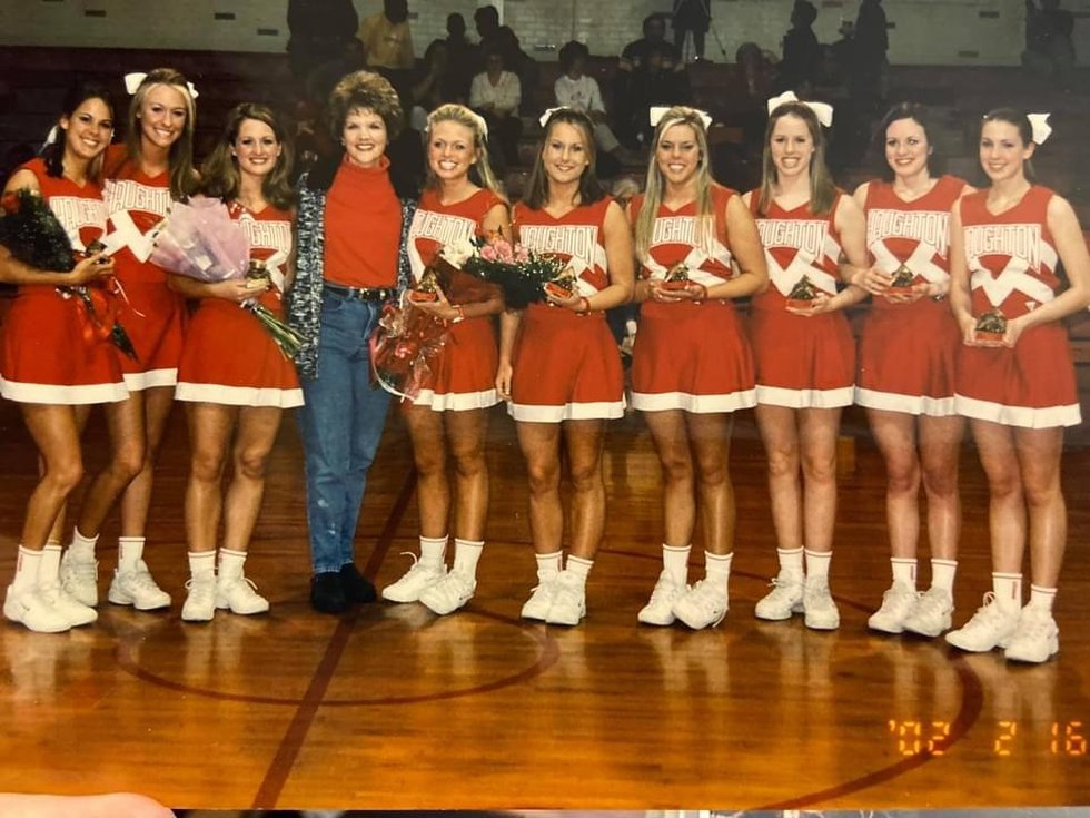 Kelli Shaw first started working as Haughton High's cheerleading sponsor during the 1995-96...