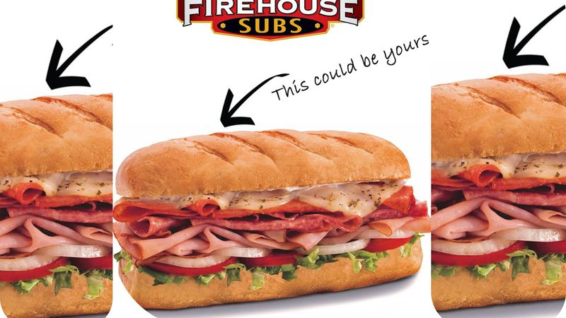 Depending on what your name is, Firehouse Subs will give you a free medium sub with any...