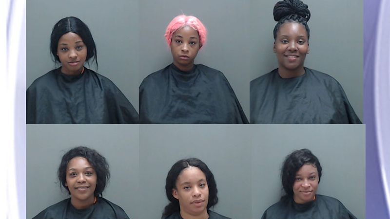 Pictured are (top row from left) Iveon Gray, Jiveon Gray, and Ashley Manning and (bottom row...