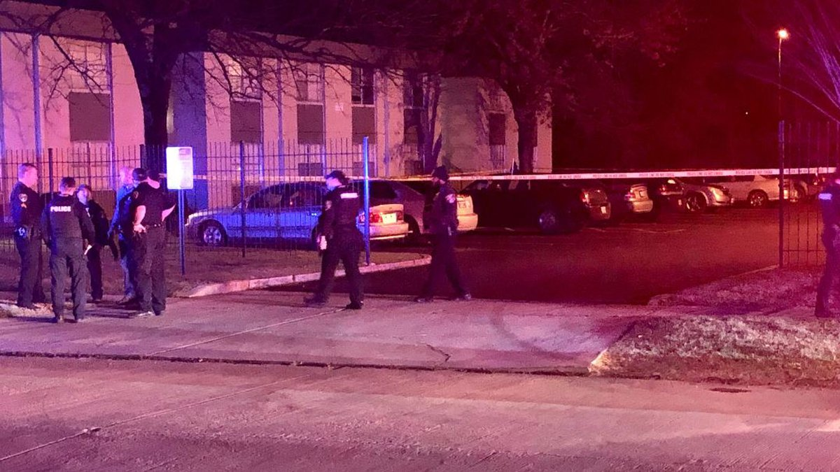 A 7- to 8-year-old child was in a car when its driver was shot at 9:17 p.m. Jan. 3 on Lyba...
