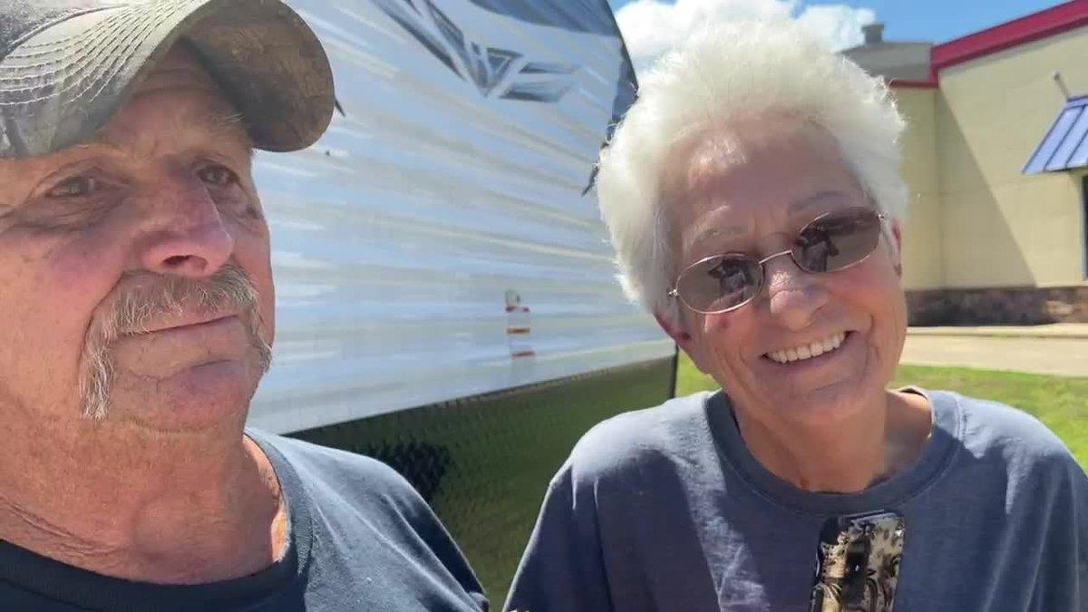 Clifford and Lynn Dufrene will return to Lockport La with extra cargo from Nacogdoches: a...