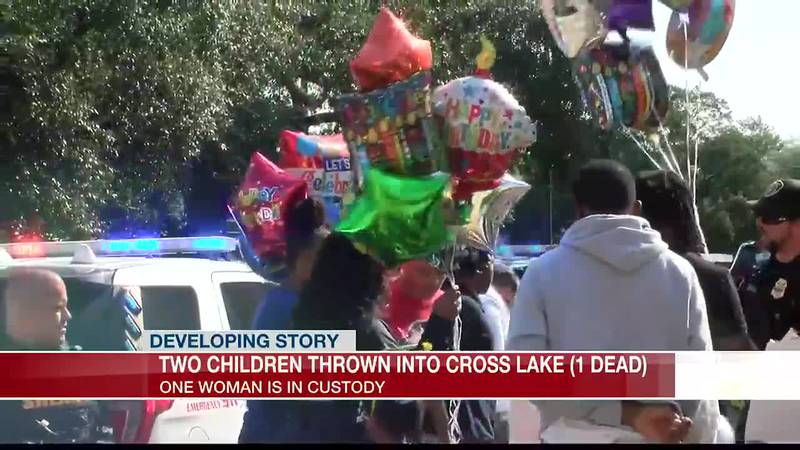 Community celebrates birthday of child pulled from Cross Lake