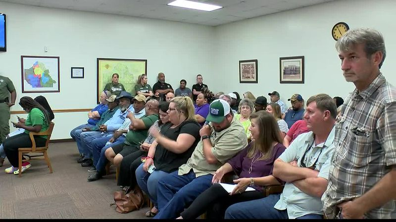 It was a packed house when DeSoto police jurors met June 15, 2021, to discuss special event...