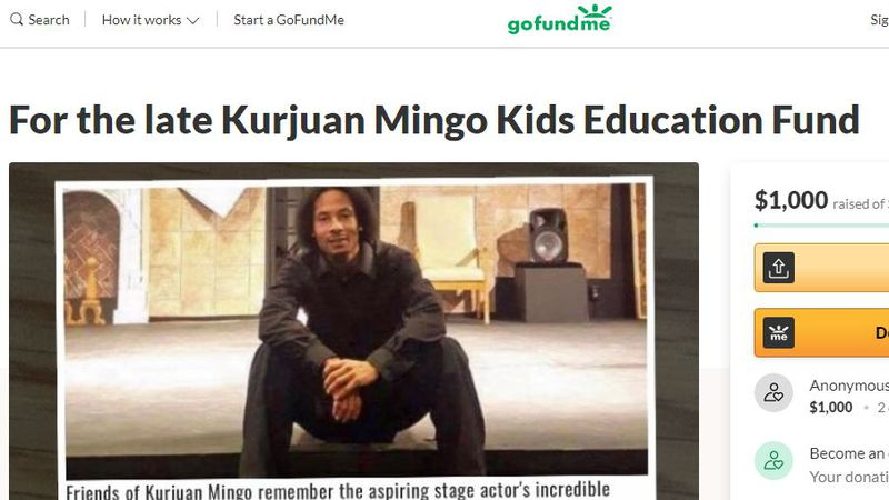 Shemicka Asom has started a GoFundMe campaign in honor of her late brother Kurjuan Mingo, who...