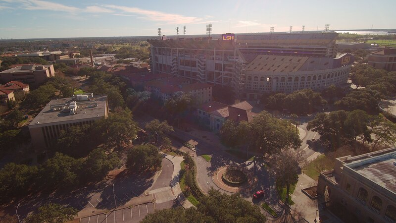 WAFB file photo of Tiger Stadium on the LSU campus in Baton Rouge, La.