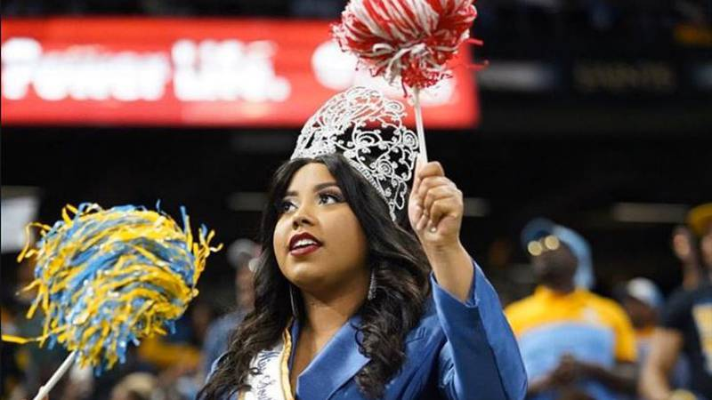 Southern University, Alacia Brew up for a spot as HBCU Campus Queen.