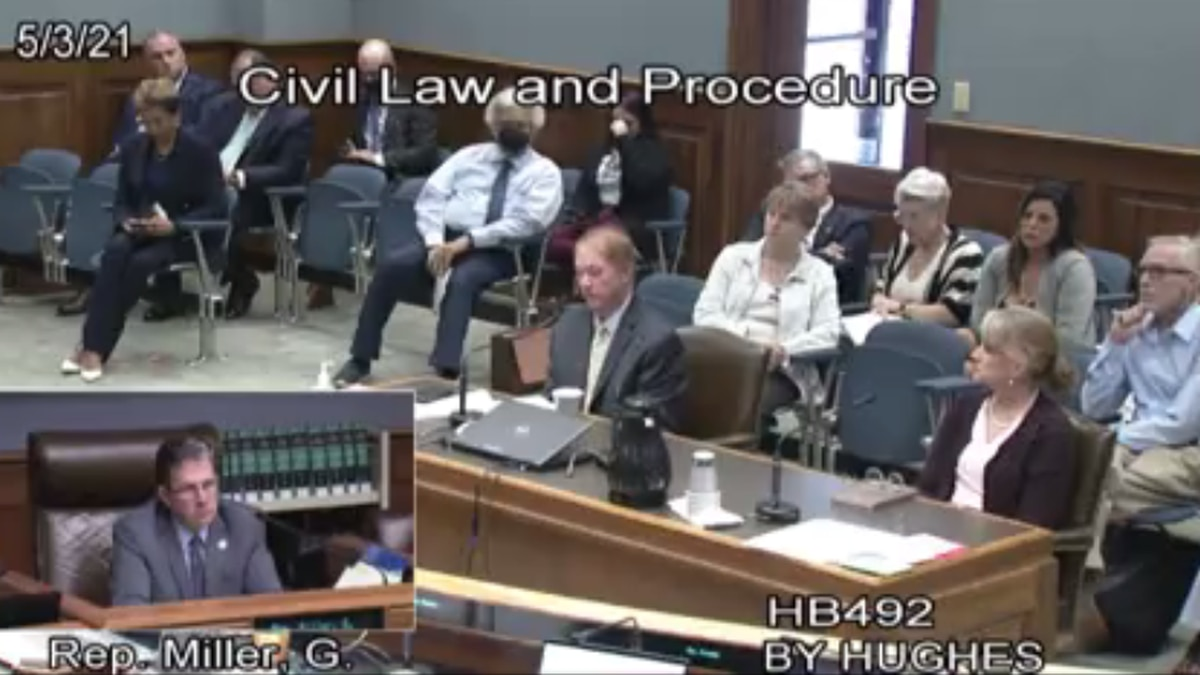 Gretna councilman testifies before Louisiana lawmakers that he was victim of clergy abuse.