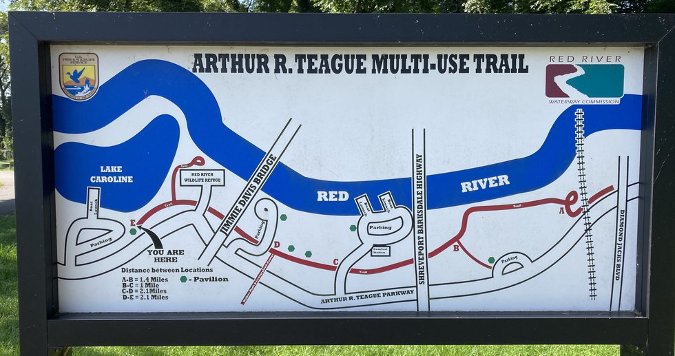 Construction will soon begin on an extension of the Arthur Ray Teague multi-use trail, a...