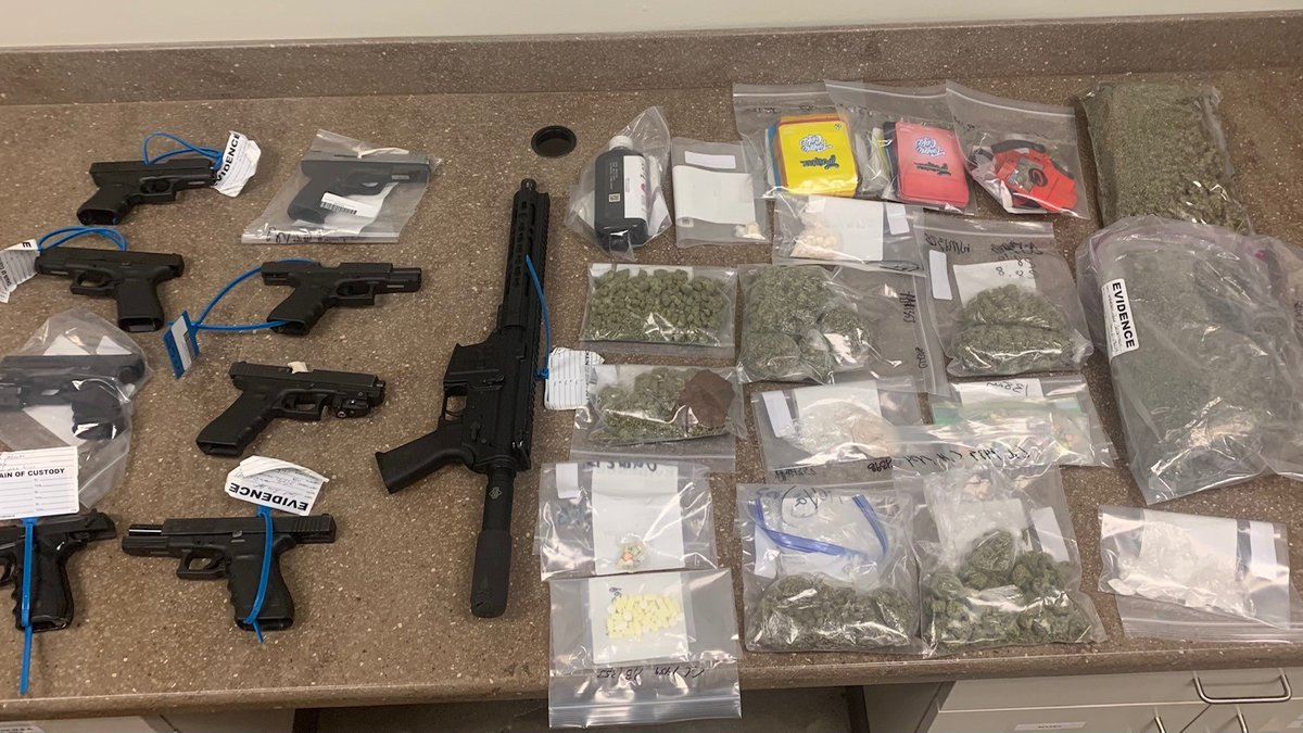 The Shreveport Police Department seized a number of weapons and drugs, and made 23 felony...