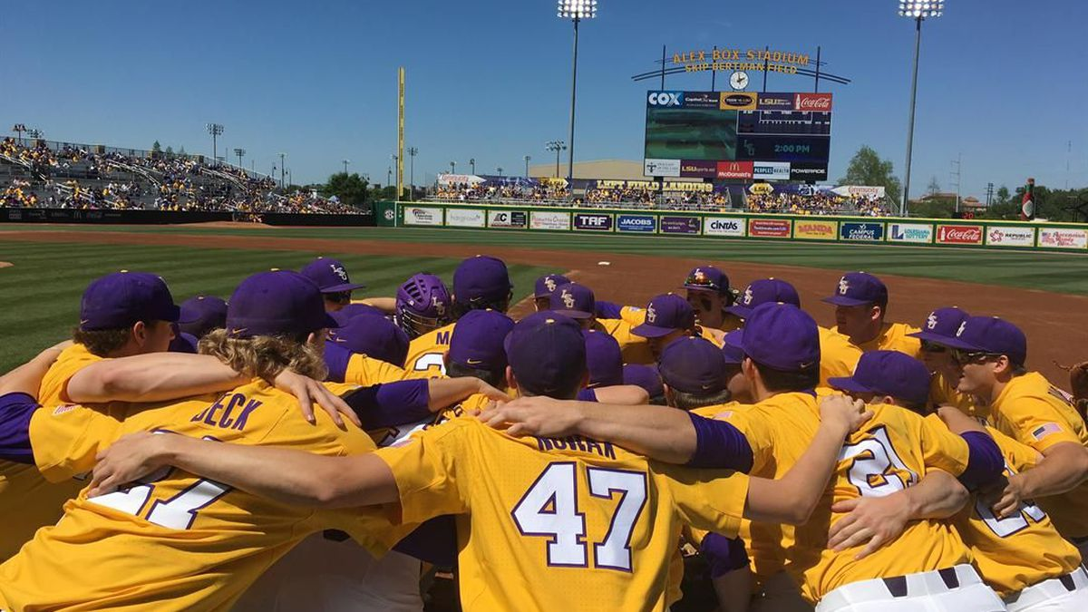 LSU baseball defeated MSU on Saturday, March 31 to win the series (Source: WAFB)