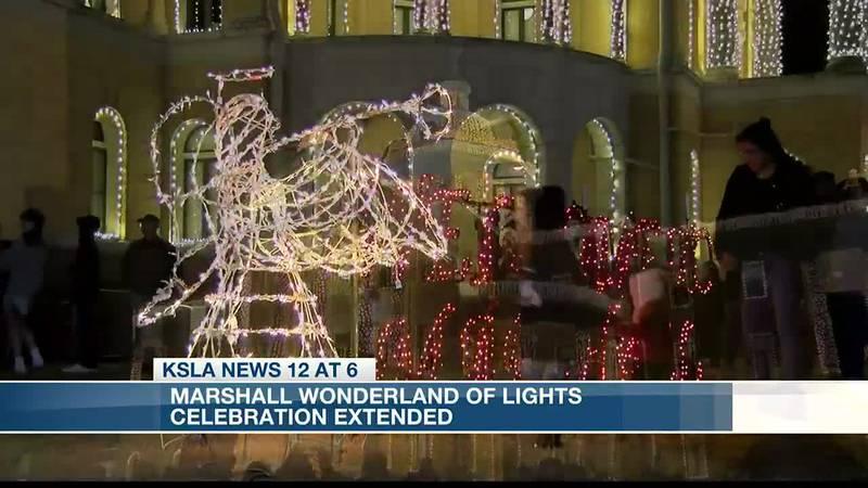 Marshall, Texas, announces new dates for Wonderland of Lights