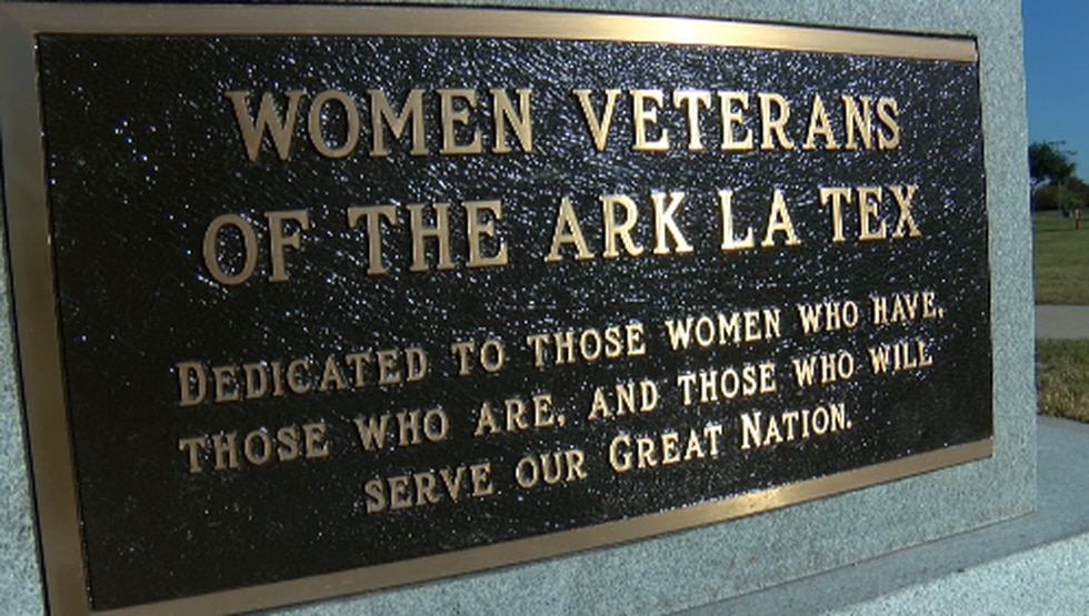 On Veteran's Day, the Women Veterans Monument was unveiled in Bossier City, La.