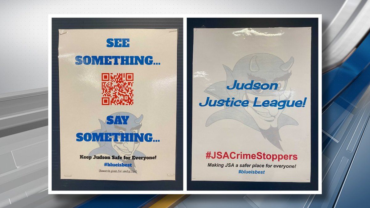 Students at Judson Middle School in Longview created the 'Judson Justice League', which is...