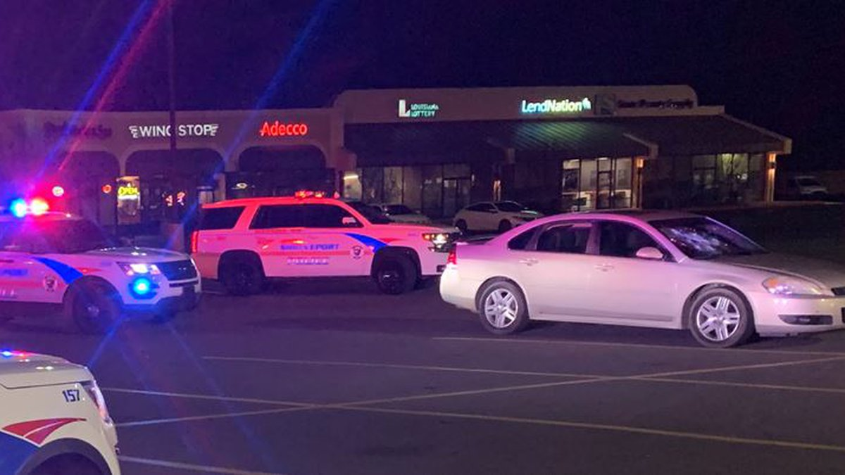 Shreveport police are investigating how a bullet-riddled car wound up in a shopping center...
