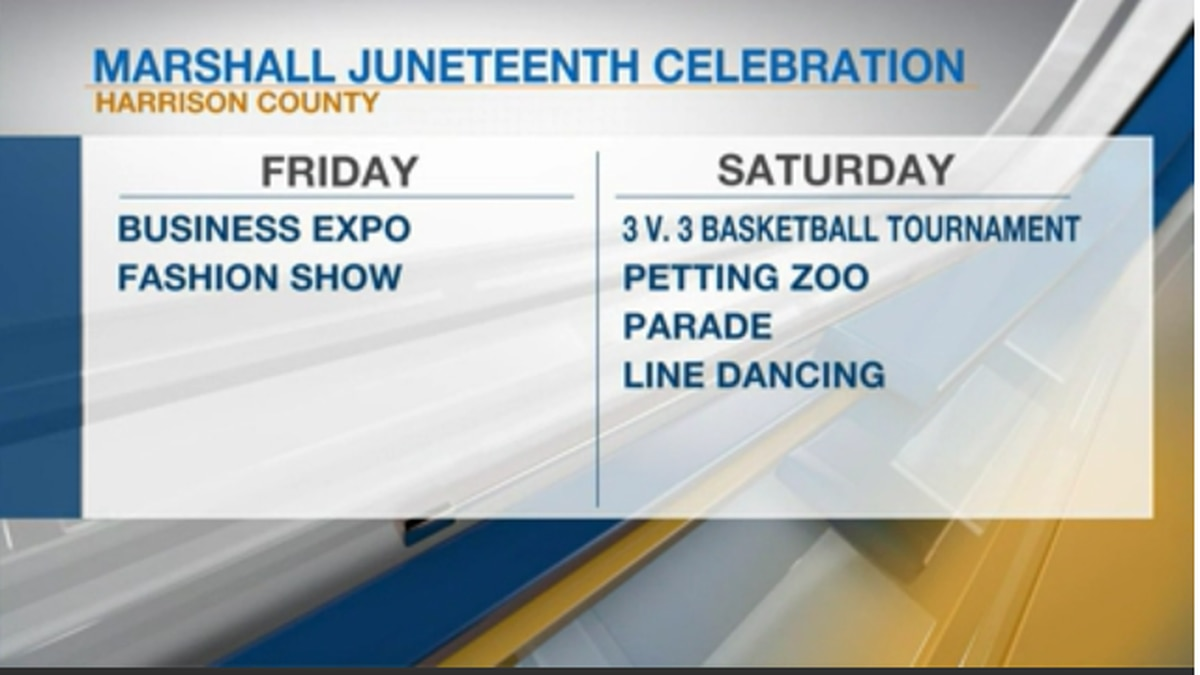Marshall Juneteenth Celebration schedule