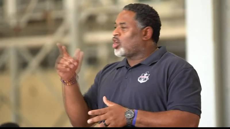 KSLA's Rashad Johnson shares highlights of football jamboree, a view of the LA Sports Hall of...