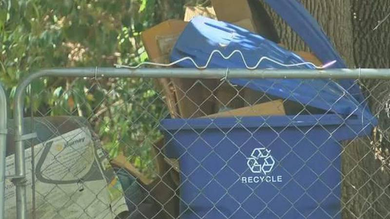 Shreveport suspended its curbside recycling program in October 2020.