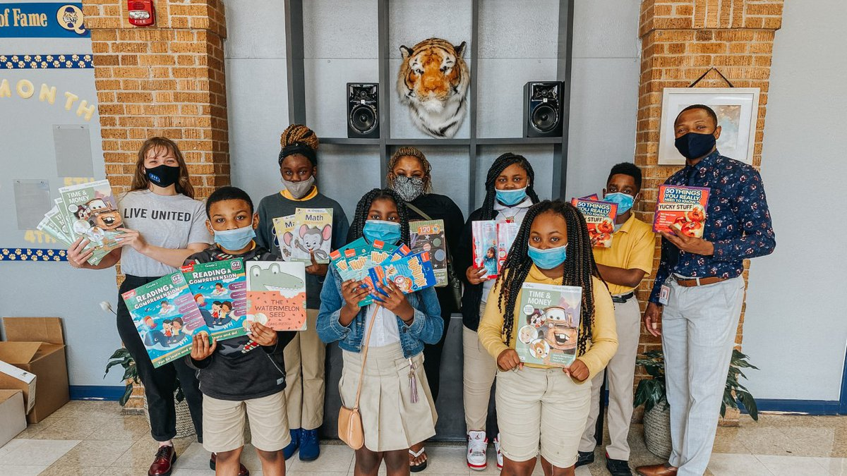 13 Caddo Parish schools teamed up with local nonprofits to collect essential items for these...