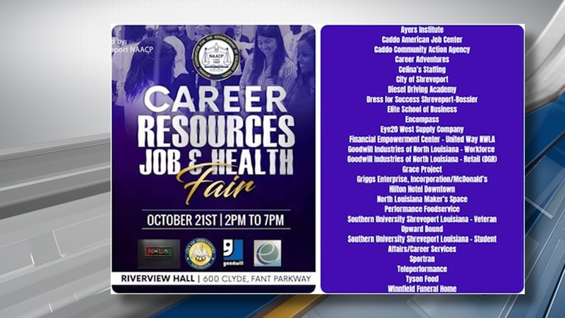 The event is made possible by the Shreveport Chapter of the NAACP, the City of Shreveport,...