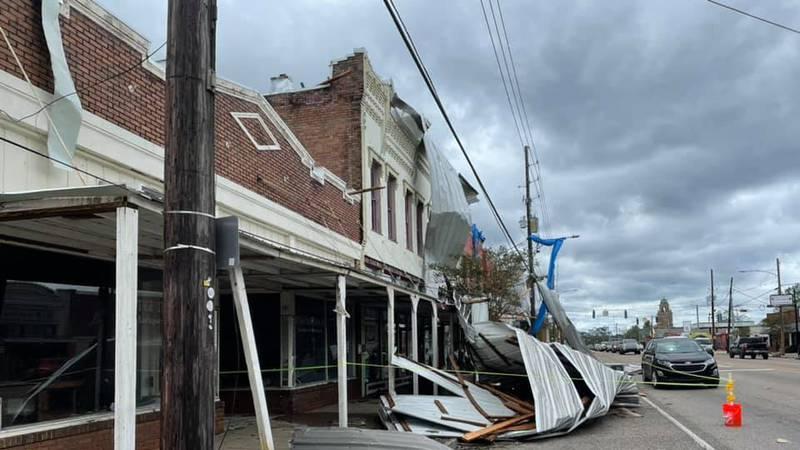 Hurricane Ida brought damage to Downtown Ponchatoula and other parts of Tangipahoa Parish