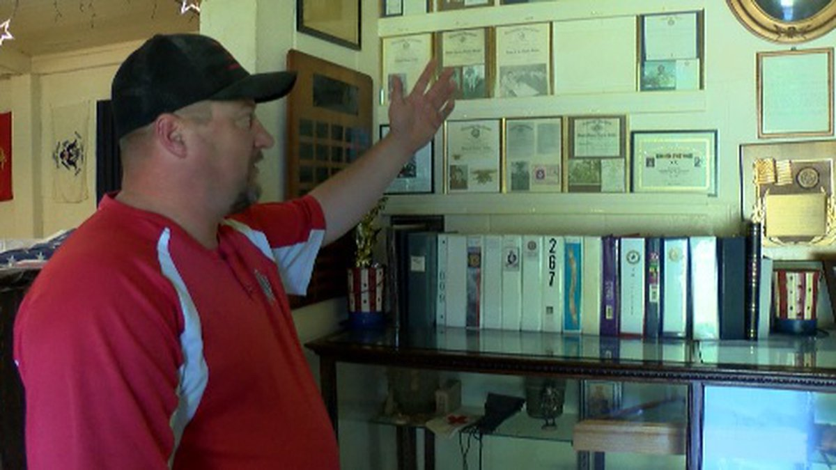 Commander Mark Haines shares some history about American Legion Post 267 in Marshall, Texas.