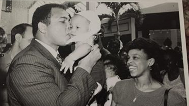 This photo of Muhammad Ali was taken in 1989 at Cortana Mall. Ali was in Baton Rouge promoting...