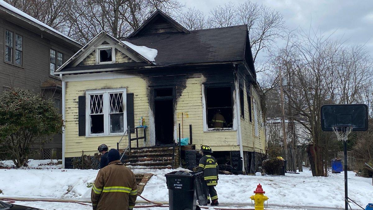 Magnolia Avenue house fire.