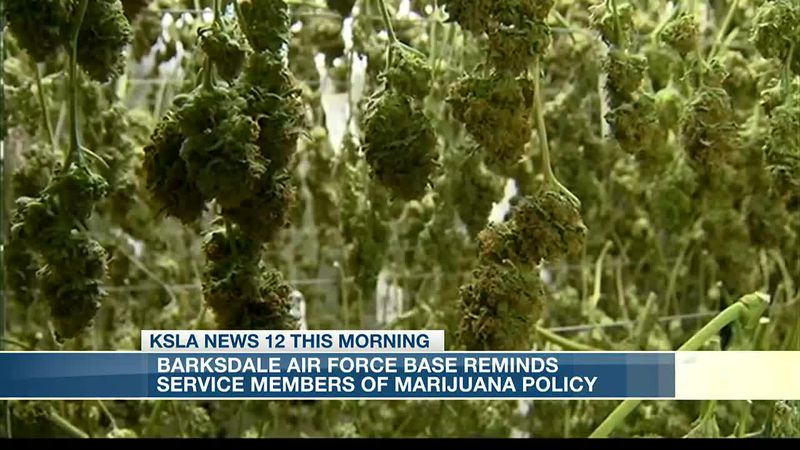 Barksdale reminds service members of drug policies after passage of marijuana bill in La.