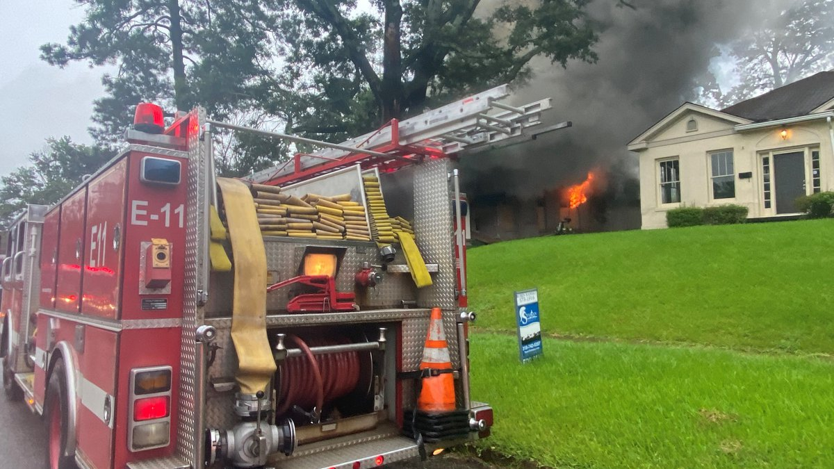 Crews with the Shreveport Fire Department responded to a house fire on Dalzell Street on...