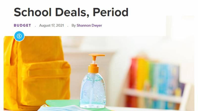 RetailMeNot.com Back-to-School deals (Source: RetailMeNot.com)