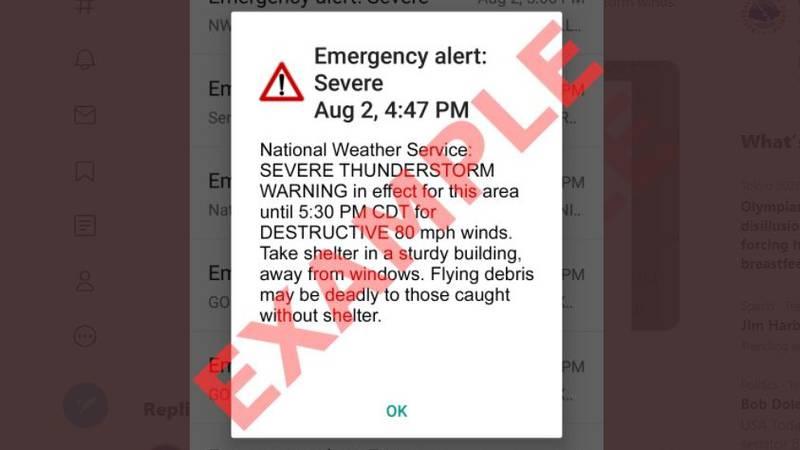 "Beginning next week, the agency will add a ""destructive"" severe thunderstorm warning category..."